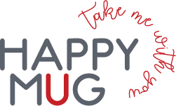 Happy Mug Emaljmuggar