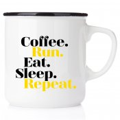 Coffee Run Eat Sleep Repeat