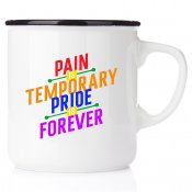 Pain is temporary, pride is forever Love wins Love is love pride pride2017 pride2018 pride 2017 happy pride pride mugg emalj