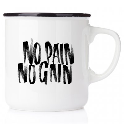 No Pain No gain löparmug runners mug coffeemug